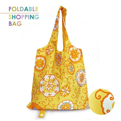PM005-Rolling Annulus - Polyester Reusable Shopping Bag, Eco-Friendly Foldable Shopping Bag, Supermarket Grocery Tote Bags
